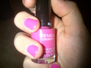 The prettiest pink polish.