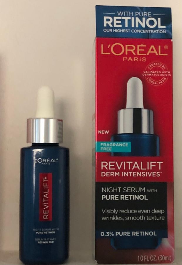 Anti-aging All-star: L'Oreal Revitalift Derm Intensives Night Serum with PureRetinol